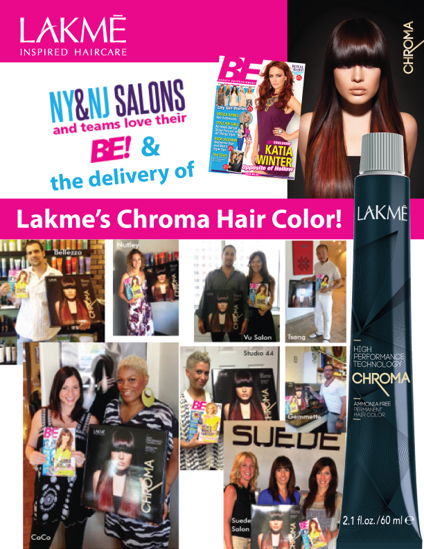 LAKME Chroma BE Magazine