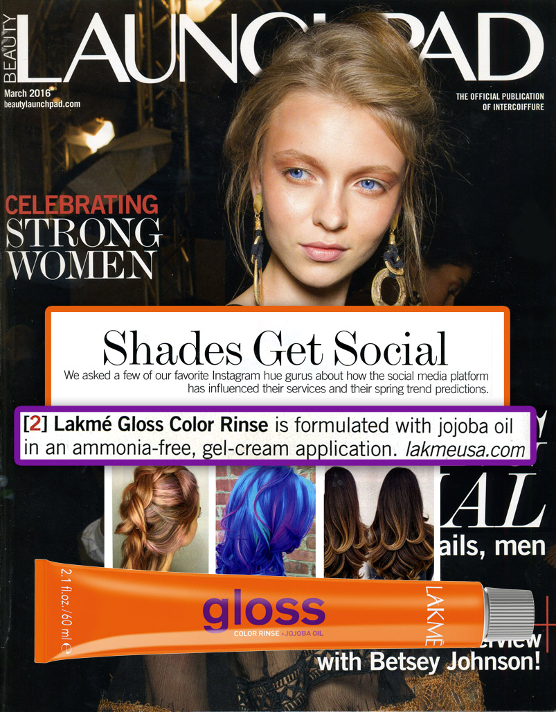LAKME Gloss in Launchpad