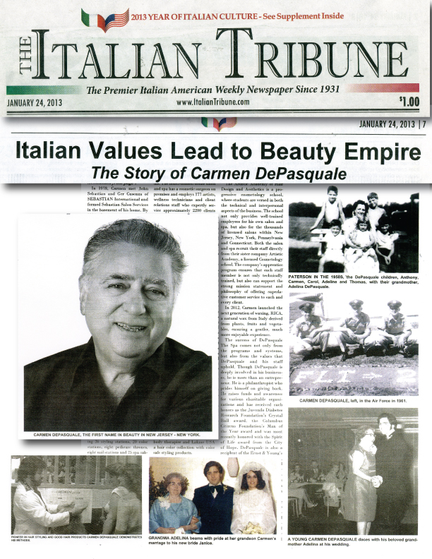 Carmen DePasquale - The Italian Tribune